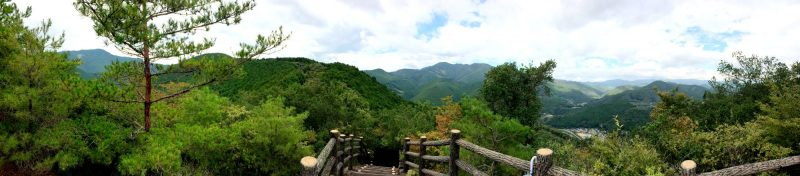 Trails over the Mountain tops in Wakayama © CoupleofMen.com