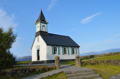 Chapel at Þingvellir | Golden Circle Tour Iceland Þingvellir Geysir Gullfoss © CoupleofMen.com