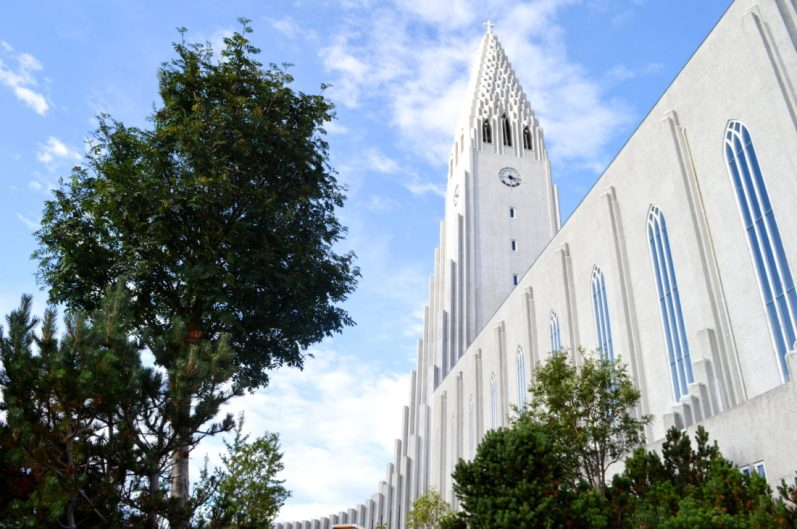 Reykjavik Gay Travel The Hallgrímskirkja Reykjavik | Gay Couple Travel City Weekend Reykjavik Iceland © Coupleofmen.com