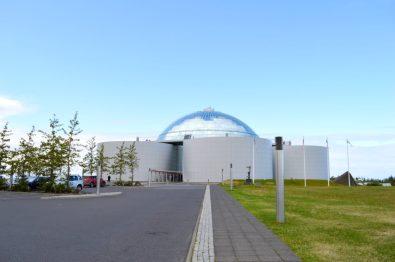 Landmark buildings of Reykjavik named Perlan | Gay Couple Travel City Weekend Reykjavik Iceland © Coupleofmen.com