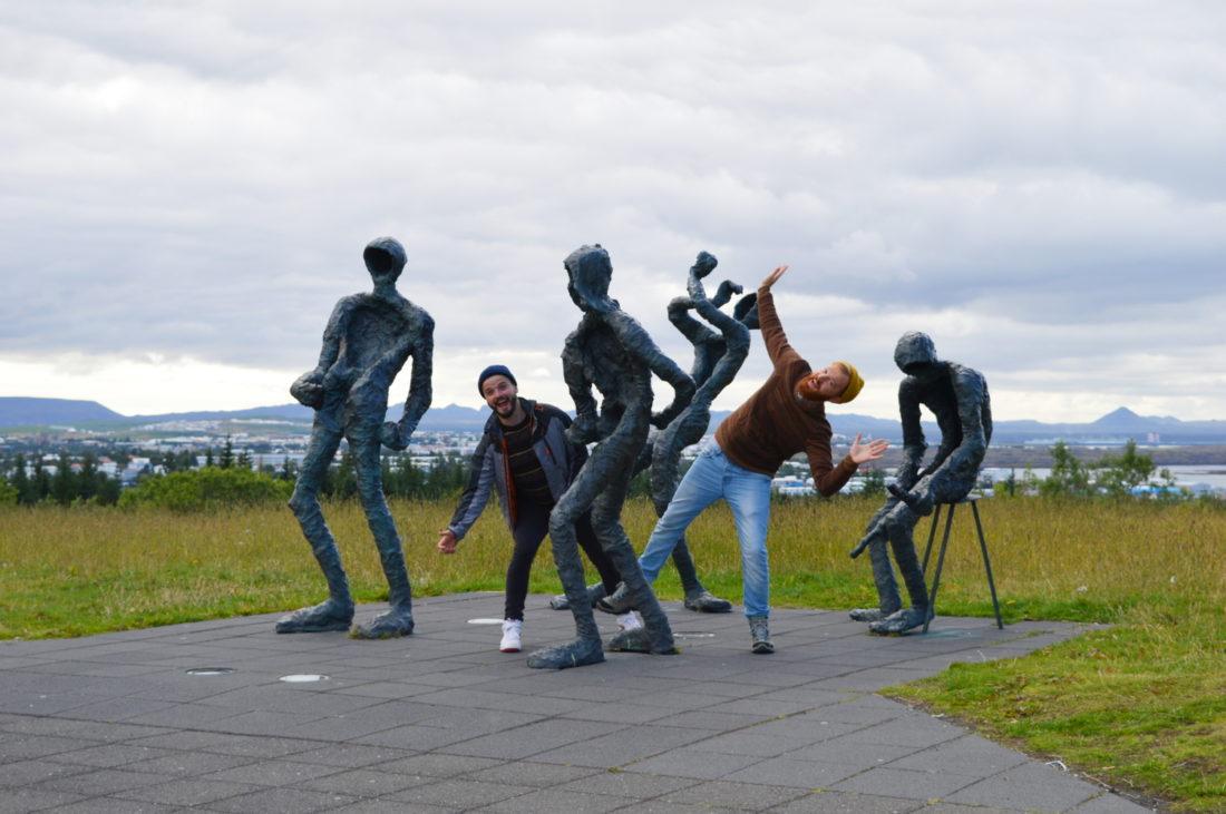 Sculpture Fun in Reykjavik   Reykjavik Gay Travel City Weekend Reykjavik Iceland © Coupleofmen.com