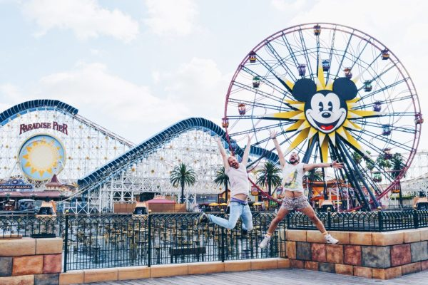 Disney California Adventure: Home of Magic | Gay Couple Visiting Theme Parks Worldwide © CoupleofMen.com