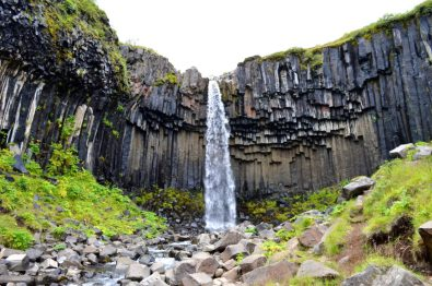 Hike to Svartifoss | No-Man's-Land Skaftafell Glacier Iceland © CoupleofMen.com