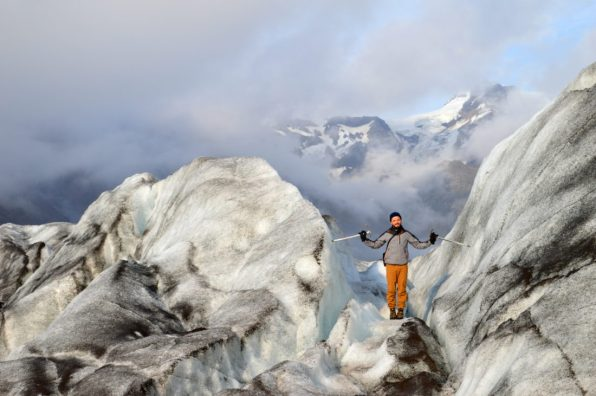 Hiking an Icelandic Glacies at No-Man's-Land Skaftafell Glacier Ice © CoupleofMen.com