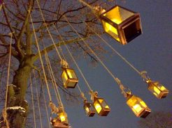 Lamps & Lights everywhere at Tivoli Gardens | Gay Travel Guide Tivoli Gardens Copenhagen Winter © Coupleofmen.com