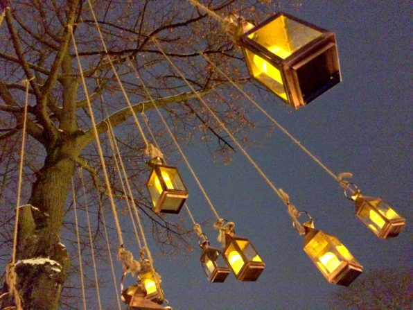 Lamps & Lights everywhere at Tivoli Gardens | Gay Travel Guide Tivoli Gardens Copenhagen Winter © Coupleofmen.com