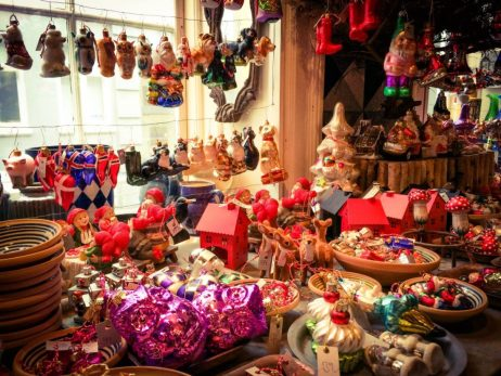 Hundreds of Ornaments | Gay Travel Guide Tivoli Gardens Copenhagen Winter © Coupleofmen.com
