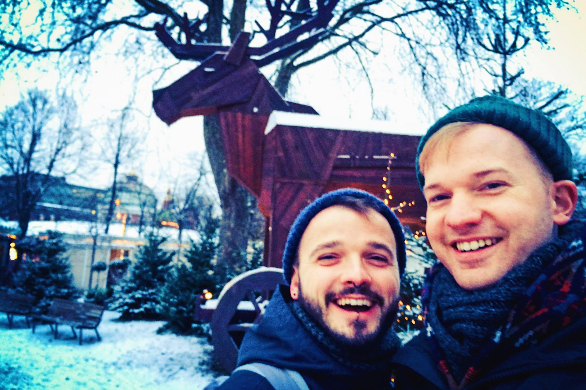 Gay Travel Guide Tivoli Gardens Copenhagen Winter © CoupleofMen.com