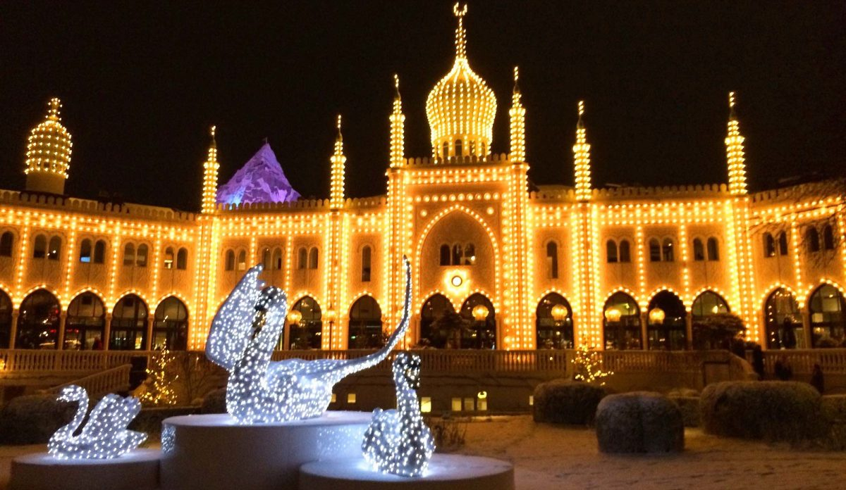 Gay Travel Guide Tivoli Gardens Copenhagen Winter © CoupleofMen.com