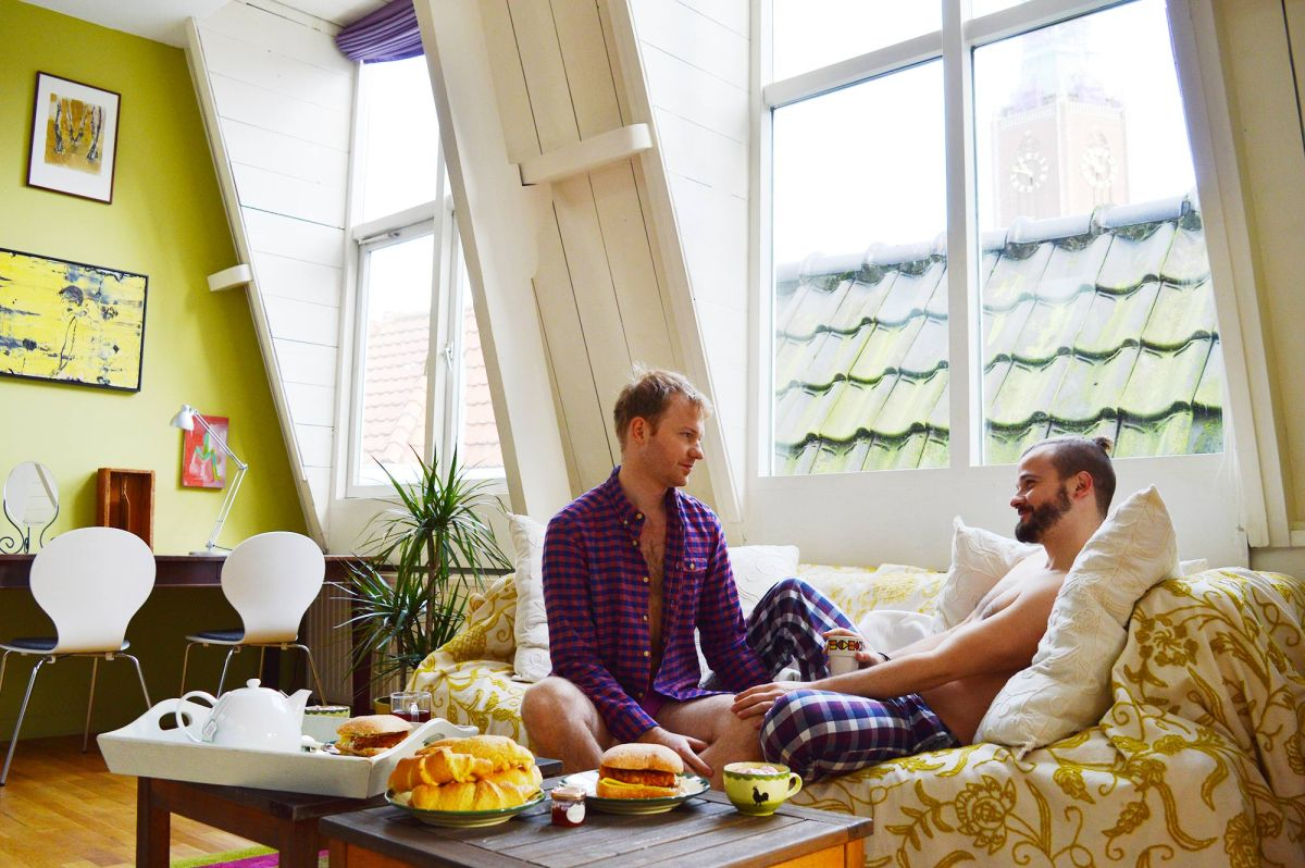 Loft Westeinde – Staying in an Apartment at City Center of The Hague