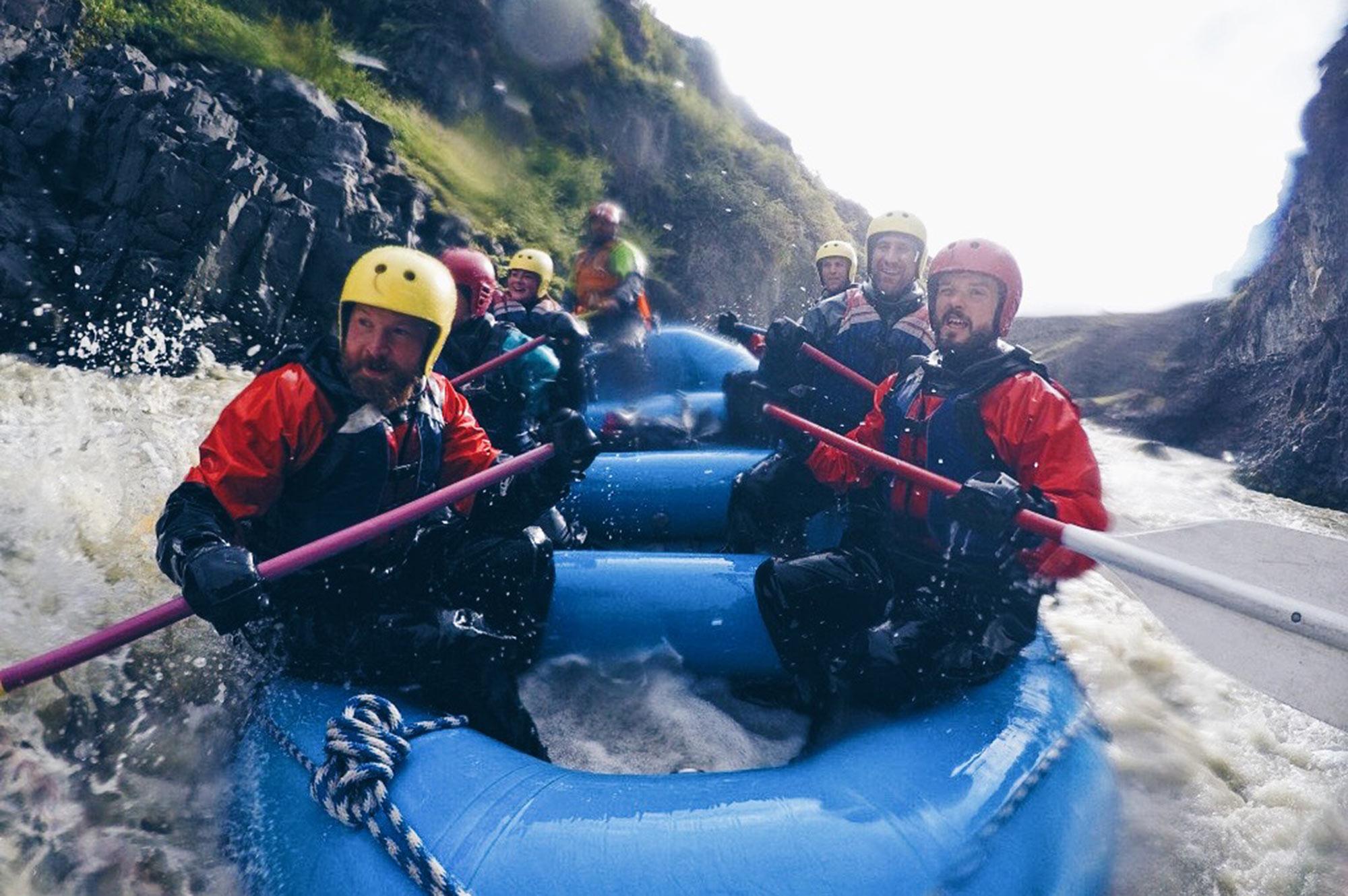 Viking White Water Rafting North Iceland © CoupleofMen.com