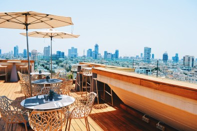 Enjoy a drink with Tel Aviv view © CoupleofMen.com