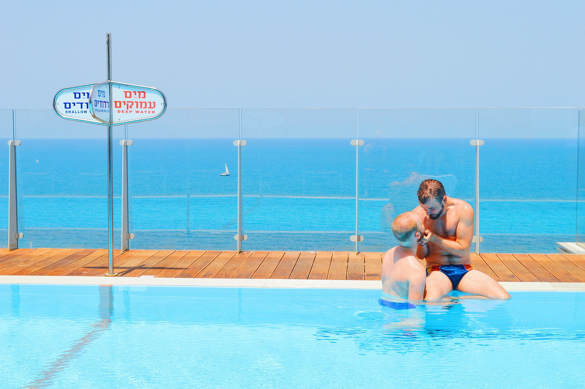 Carlton Beach Hotel Tel Aviv Israel gay-friendly © CoupleofMen.com
