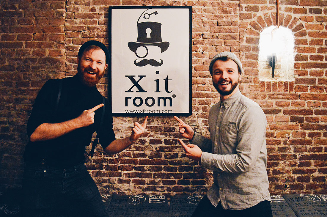 Escape Room Amsterdam Xitroom The Professor © CoupleofMen.com
