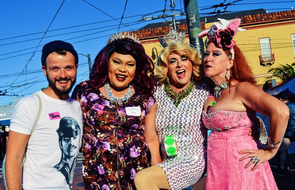 Drag Queens, Moms & Karl | Our Photo Story Castro Street Fair San Francisco © CoupleofMen.com