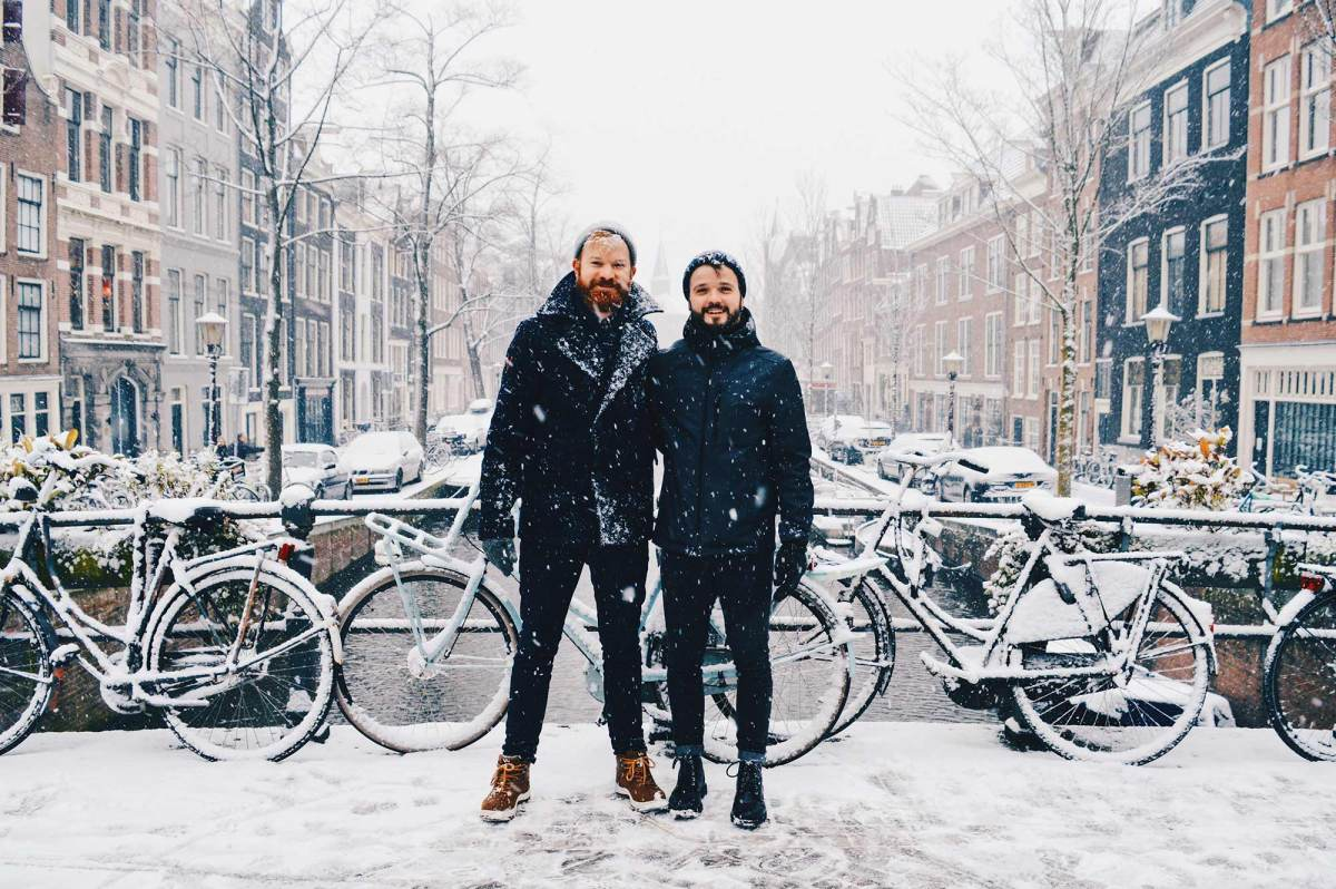 Snow in Amsterdam: Our Dutch Winter Day in the capital of The Netherlands