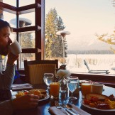Breakfast with lake view at Gay-friendly Hotel © CoupleofMen.com