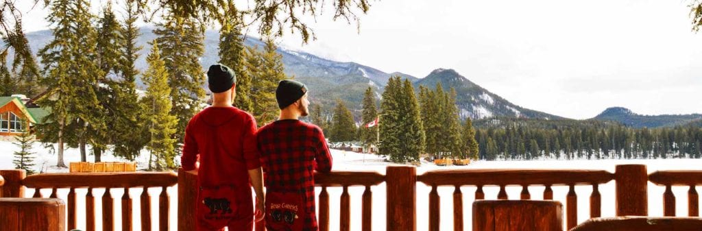 Fairmont Jasper Park Lodge Alberta Canada Gay-friendly Hotel © CoupleofMen.com