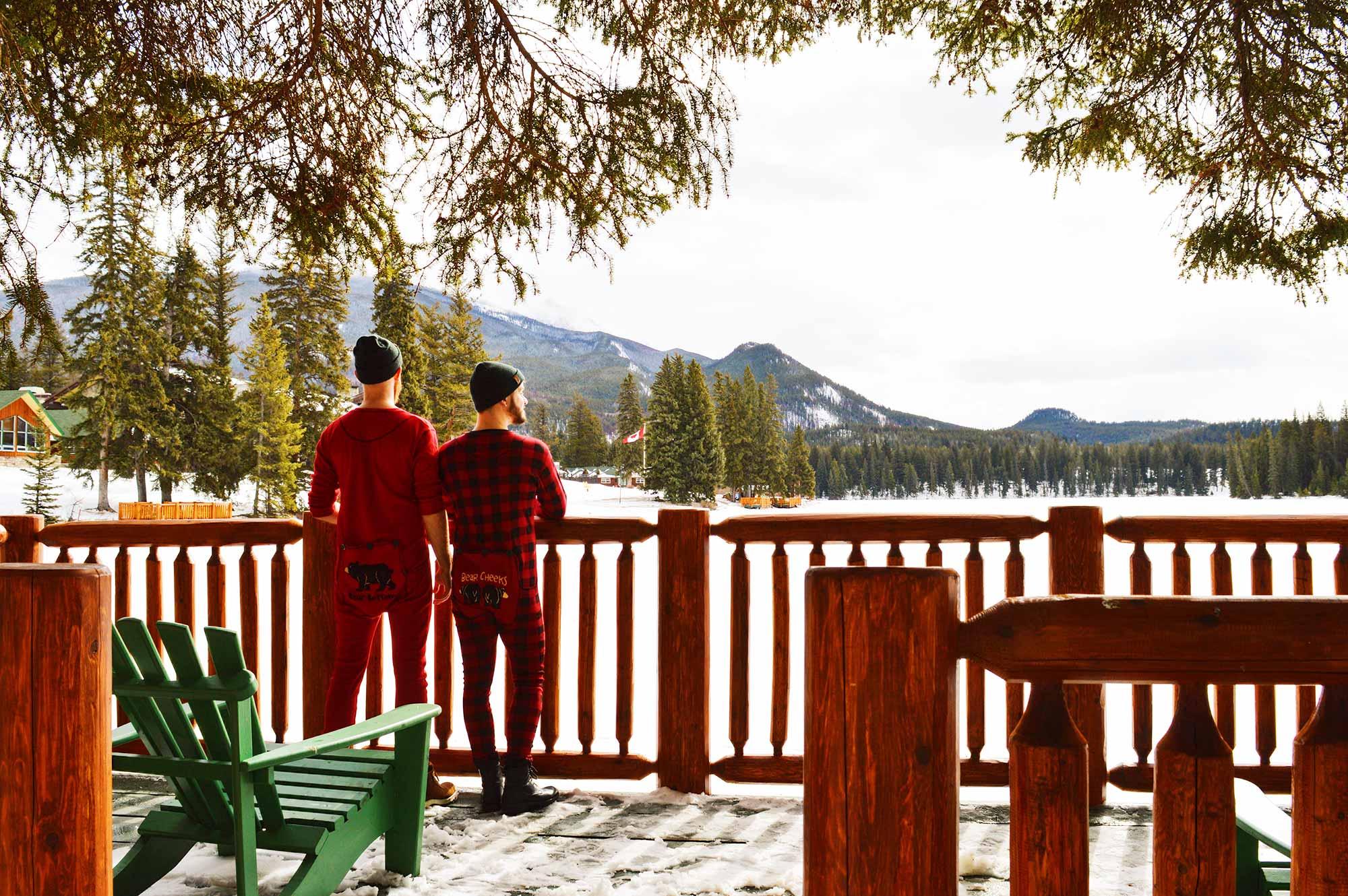 Gay-friendly Fairmont Jasper Park Lodge Fairmont Jasper Park Lodge Alberta Canada © CoupleofMen.com