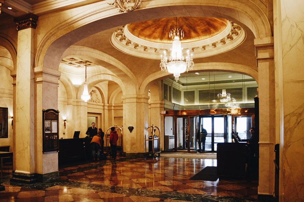 Gay-friendly Fairmont Palliser Hotel Downtown Calgary © CoupleofMen.com