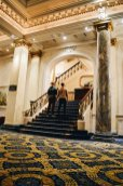 Our Gay Couple Hotel Review of the Gay-friendly Fairmont Palliser Hotel Downtown Calgary © CoupleofMen.com