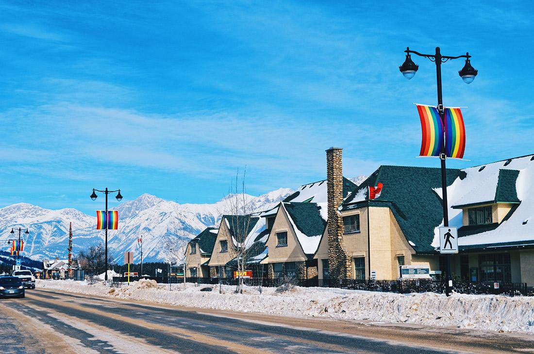 Highlights Jasper Pride Festival Rainbow Parade Marmot Basin © CoupleofMen.com