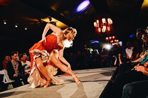 Gala Evening Show with Send in the Girls Burlesque | Highlights Jasper Pride Festival Rainbow Parade Marmot Basin © CoupleofMen.com