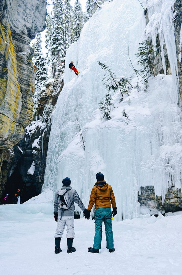 Jasper Ice Pride Maligne Canyon Ice Walk Tour © CoupleofMen.com