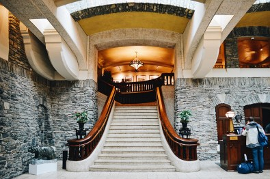 Check-in area | Fairmont Banff Springs Castle Hotel Gay-Friendly © CoupleofMen.com