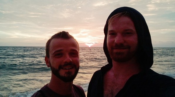 Gay Travel Adventure Vietnam Sunset on Phu Quoc Island | Top Highlights Best Photos Gay Couple Travel Vietnam © CoupleofMen.com