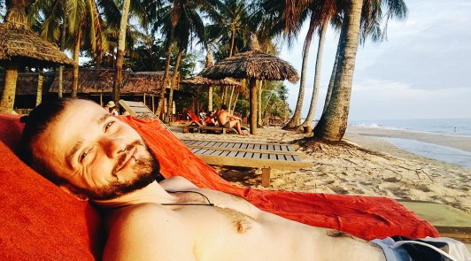Karl at Mai House Resort on Phu Quoc Island | Top Highlights Best Photos Gay Couple Travel Vietnam © CoupleofMen.com