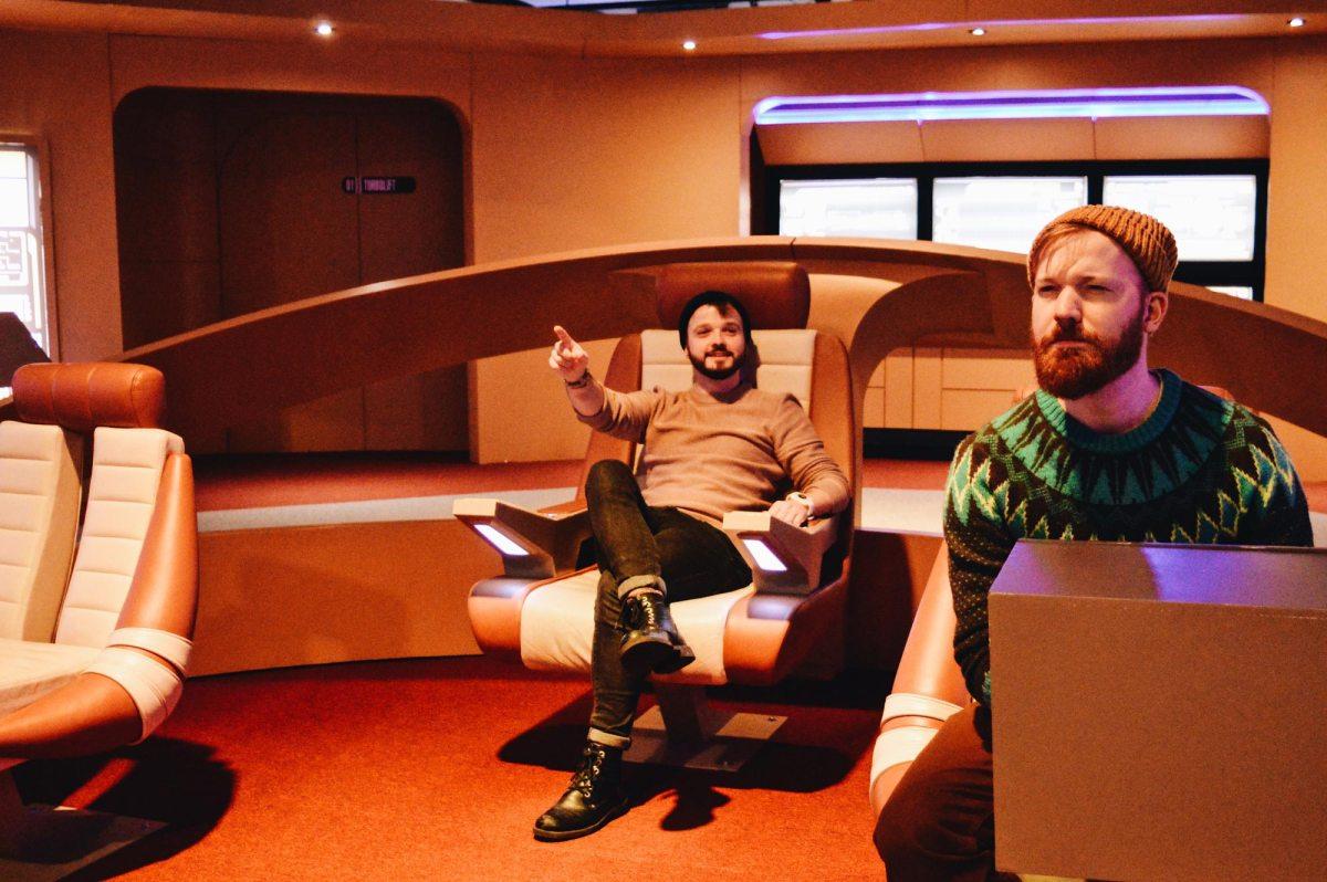 Meet Kirk & Spock at Star Trek Starfleet Academy | Telus Spark Calgary Canada