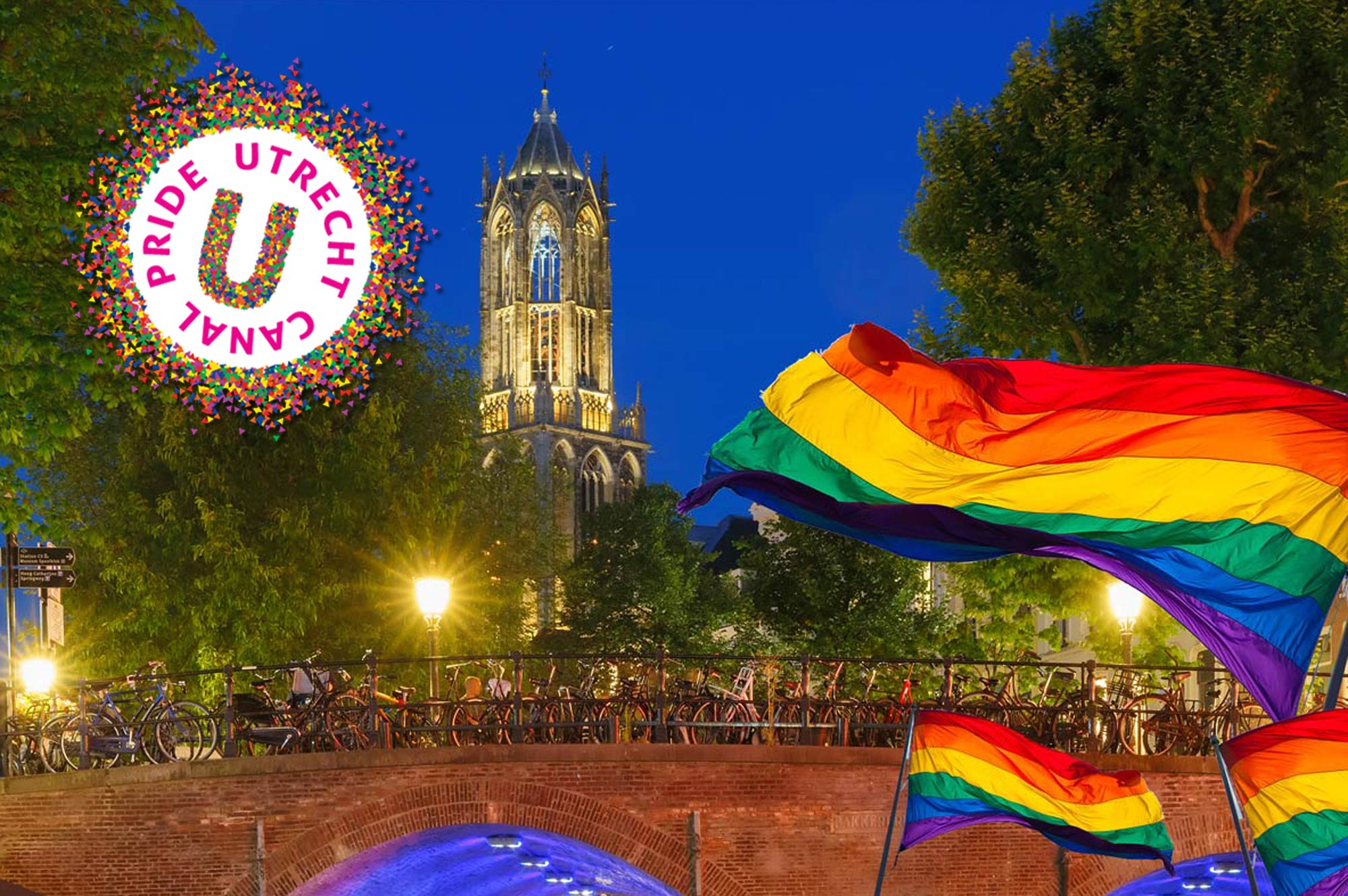 First Utrecht Canal Gay Pride 2017 The Netherlands | Coupleofmen.com