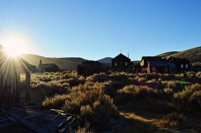 Sun Set in Bodie | Ghost Town Bodie State Historic Park California © CoupleofMen.com