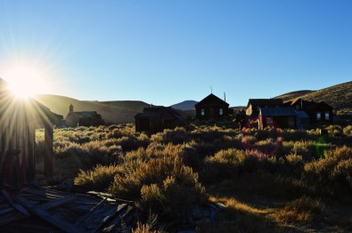 Sun Set in Bodie | Ghost Town Bodie State Historic Park California © CoupleofMen.com