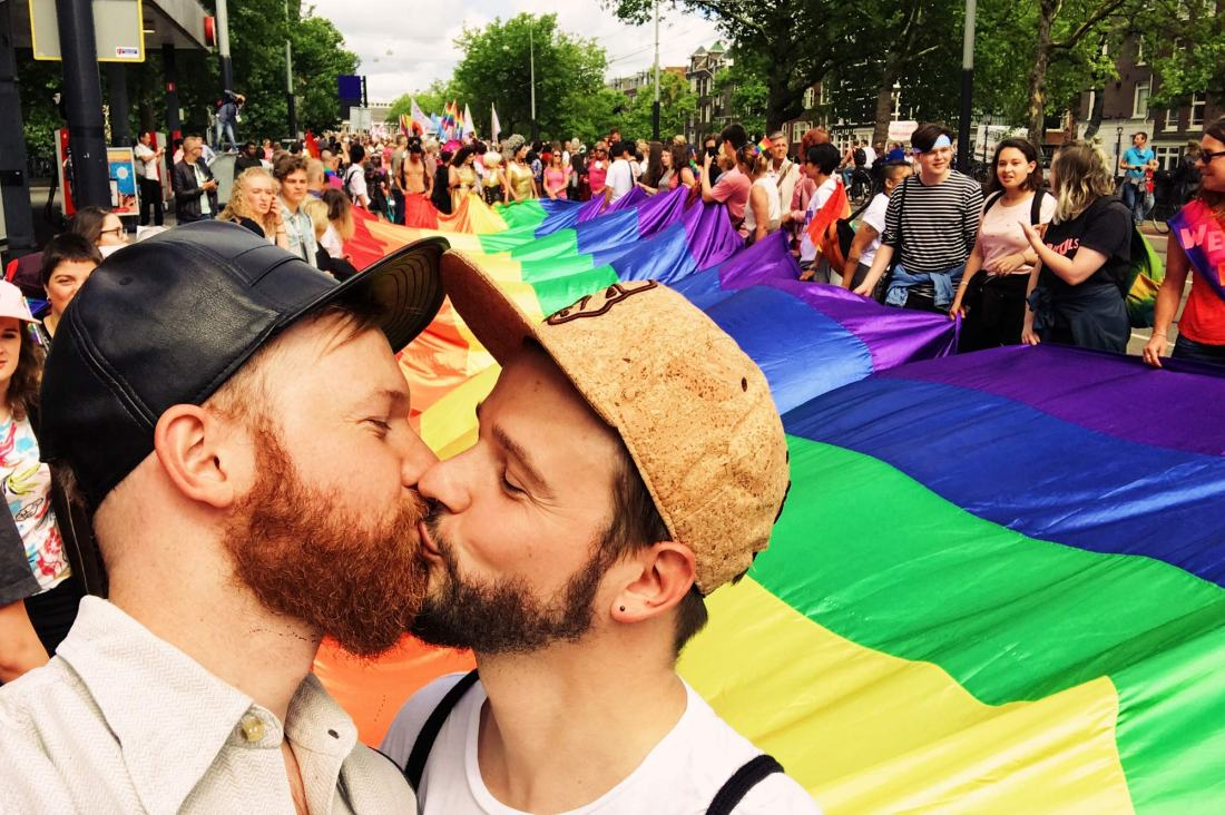 Same-Sex Marriage Austria Fotos Videos Gay Pride Amsterdam 2017 Our Photos Videos Gay Pride Week Amsterdam 2017 © CoupleofMen.com