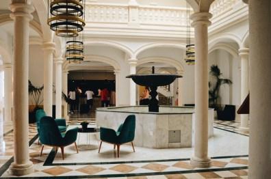 Stylish Architecture of the Lobby | The Level Meliá Villaitana Benidorm gay-friendly © CoupleofMen.com