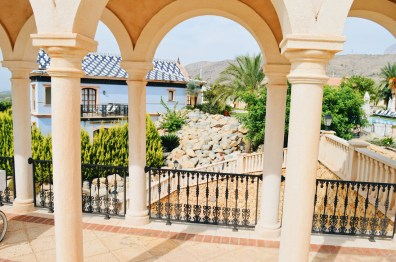 5 Star Resort build as a Spanish village | The Level Meliá Villaitana Benidorm gay-friendly © CoupleofMen.com