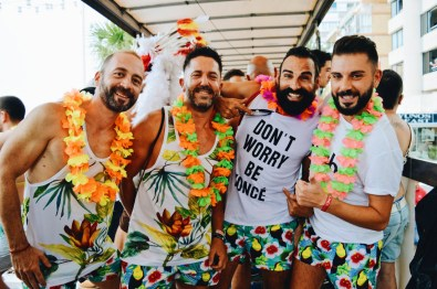 Benidorm Gay Pride Rainbow Carnival Spain 2017 © CoupleofMen.com