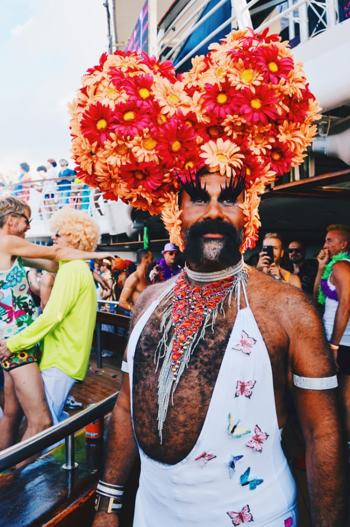 Definitely the biggest hut of The Cruise 2017 | Disco T-Dance Party The Cruise 2017 © CoupleofMen.com
