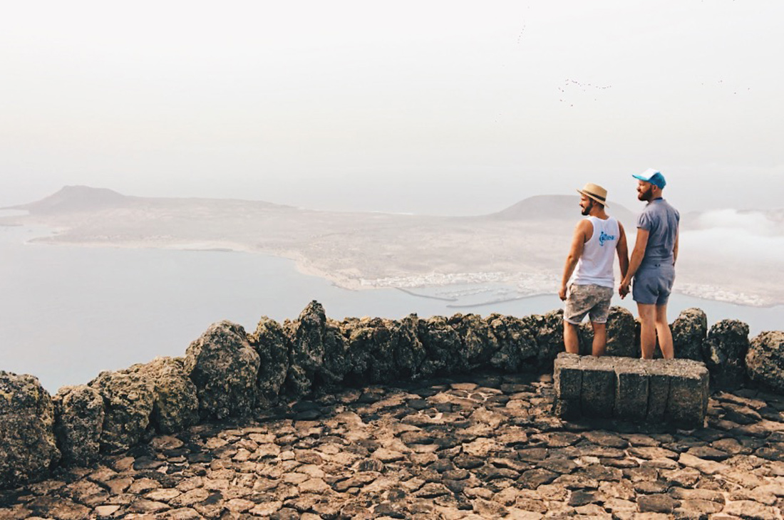 Viewpoint Mirador del Río, Lanzarote © CoupleofMen.com
