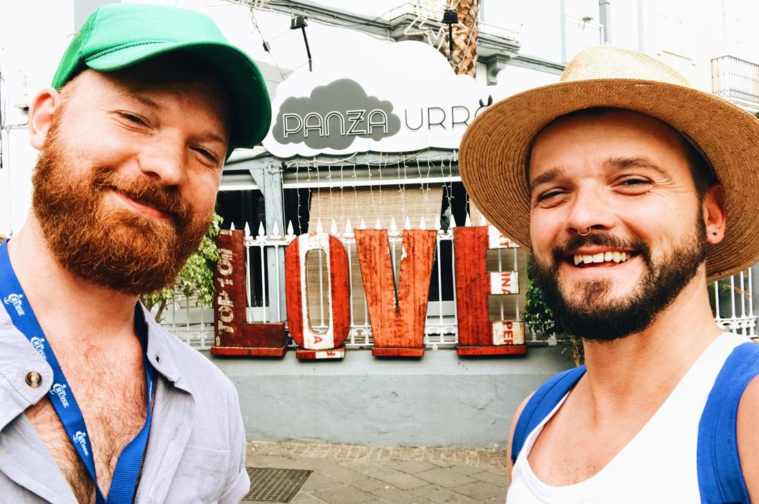 We found love on Tenerife © CoupleofMen.com