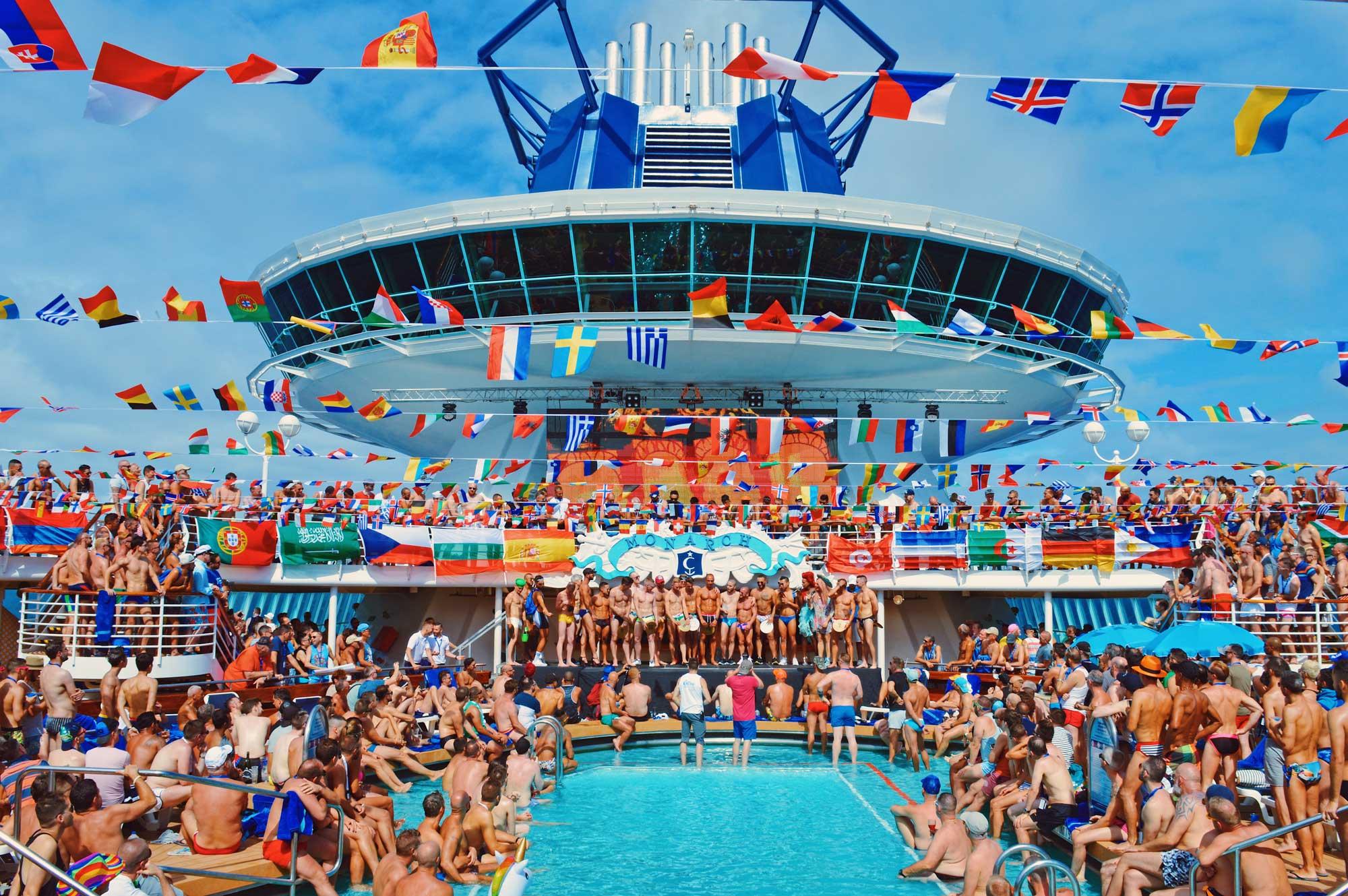 That's the best Photo of The Cruise 2017 © CoupleofMen.com