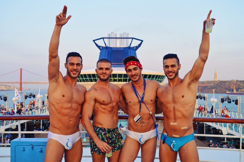 European Gay Cruise Let's sail away for The Cruise 2017 | Gay Couple Travel Diary The Cruise 2017 © CoupleofMen.com