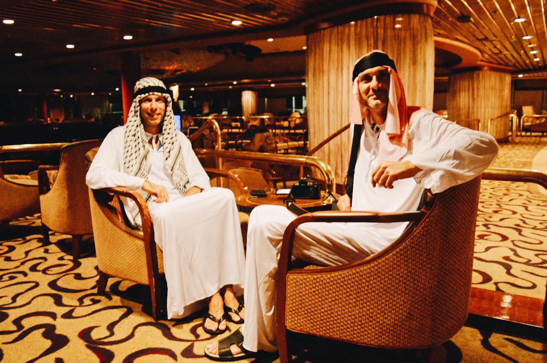Lounging Emirates © CoupleofMen.com