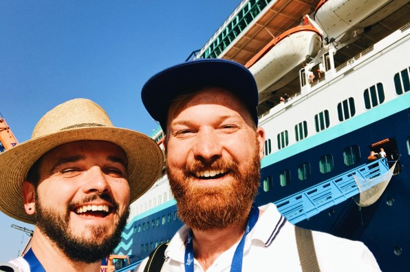 Let the Gay Cruise 2017 begin! | Gay Couple Travel Diary The Cruise 2017 © CoupleofMen.com
