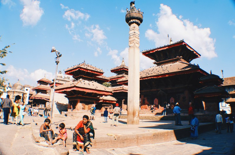 Hanumandhoka or Hanuman Dhoka on Durbar Square   Gay Travel Nepal Photo Story Himalayas © Coupleofmen.com