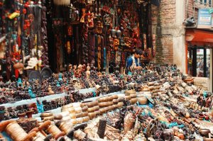 Historic shops in Kathmandu | Gay Travel Nepal Photo Story Himalayas © Coupleofmen.com