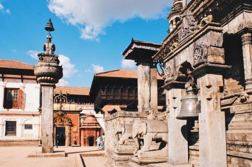 Detail work of the Bhaktapur Durbar Square   Gay Travel Nepal Photo Story Himalayas © Coupleofmen.com