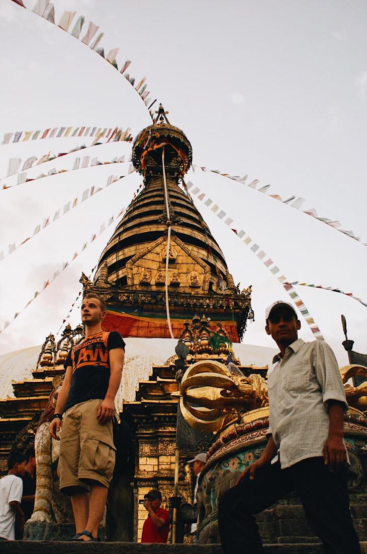 What a view over Kathmandu from Swayambhunath | Gay Travel Nepal Photo Story Himalayas © Coupleofmen.com